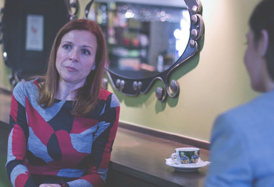Συνέντευξη με την Ράνια Σχίζα.