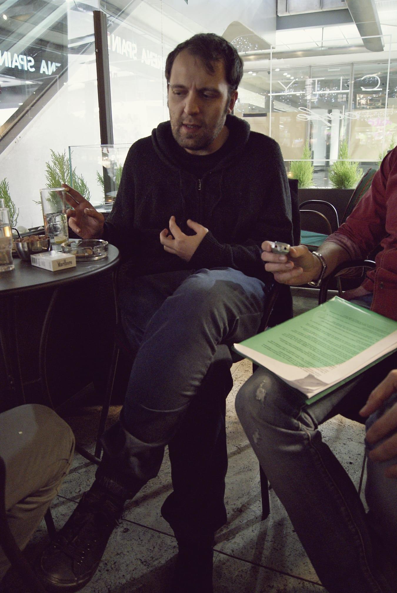 Συνέντευξη με τον Αύγουστο Κορτώ.