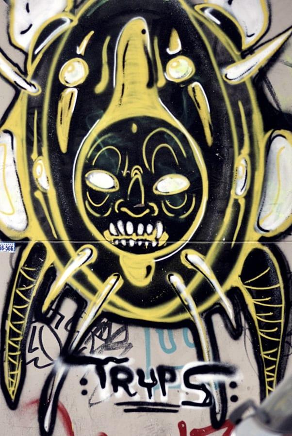 Τα graffiti της περιοχής Βαλαωρίτου!