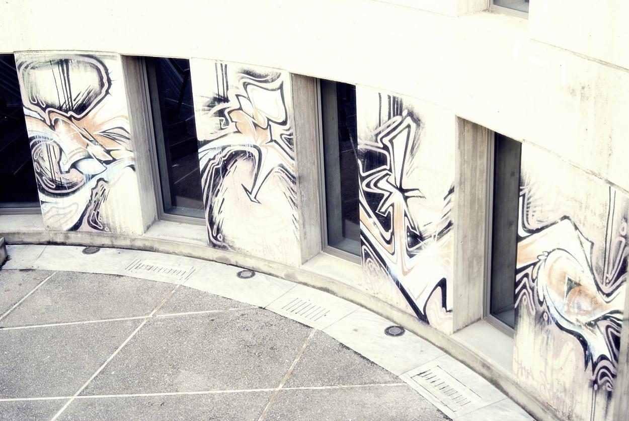 Τα graffiti στο «φυτώριο» του Α.Π.Θ.