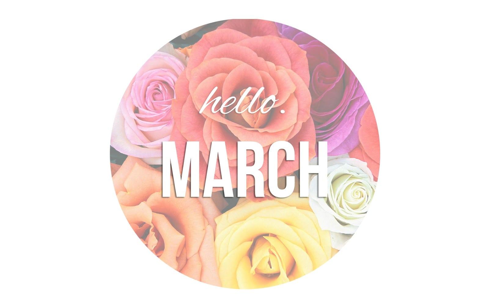 Hello-march-beautiful-image