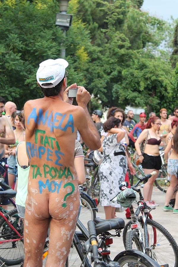 Φωτοντελίριο από την 8η Διεθνή Γυμνή Ποδηλατοδρομία!