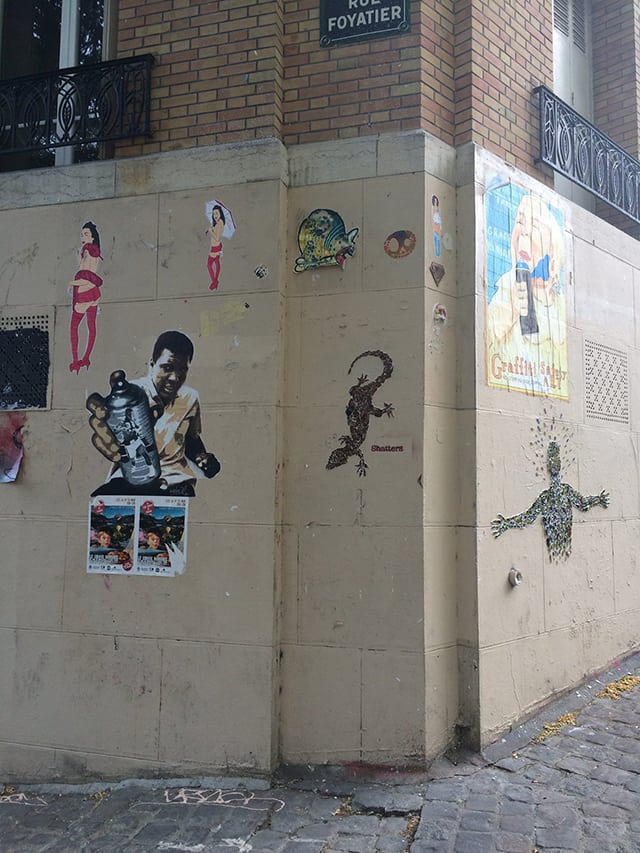 Η τέχνη του δρόμου στο Παρίσι!