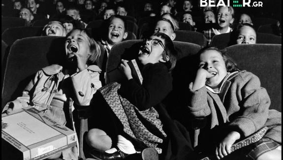 Children at the cinema, 1958. Wayne Miller
