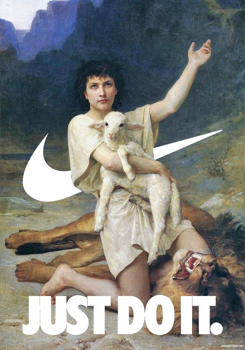 Όταν η Nike συνάντησε κλασικά έργα τέχνης!