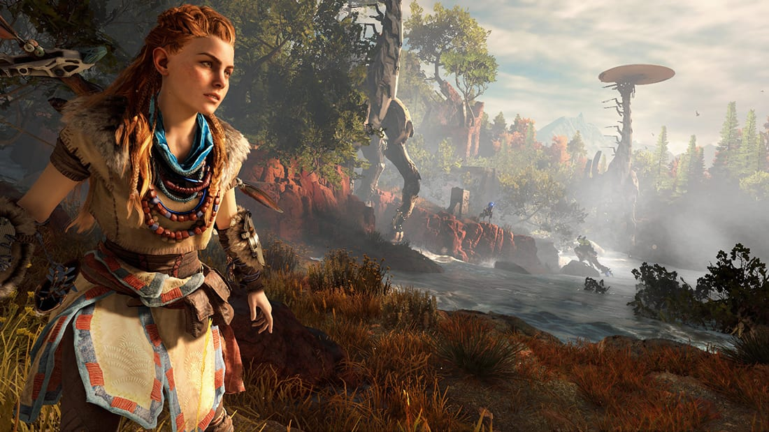 5. Horizon Zero Dawn