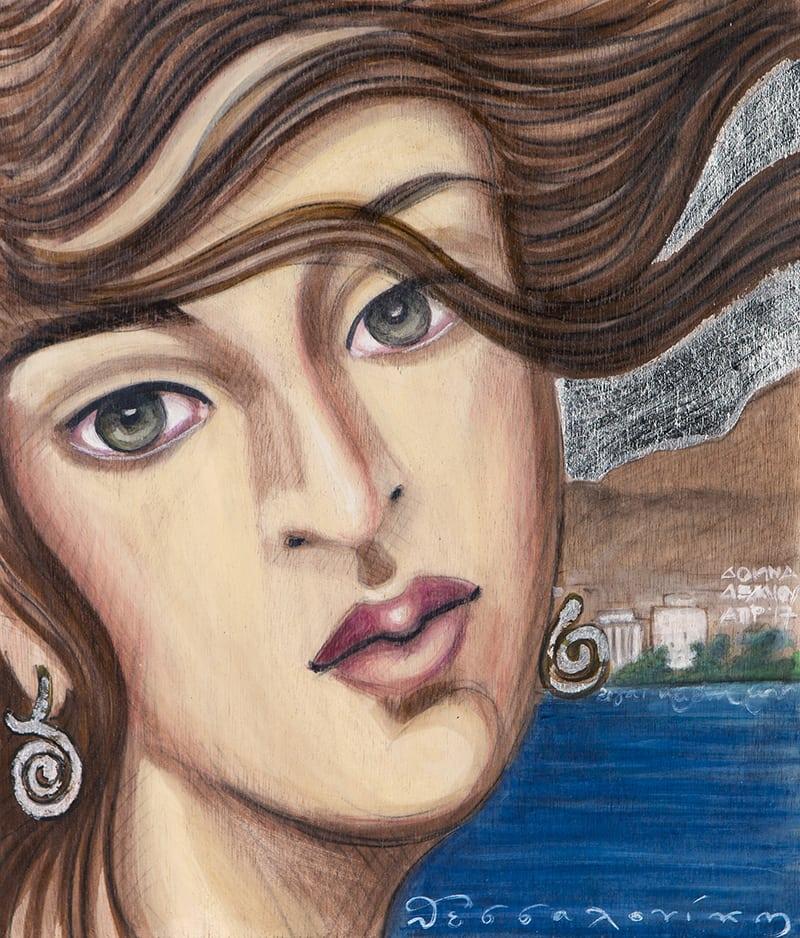 Ο κόσμος ζωγραφικής της Δόμνας Δέλλιου έρχεται στη Θεσσαλονίκη!