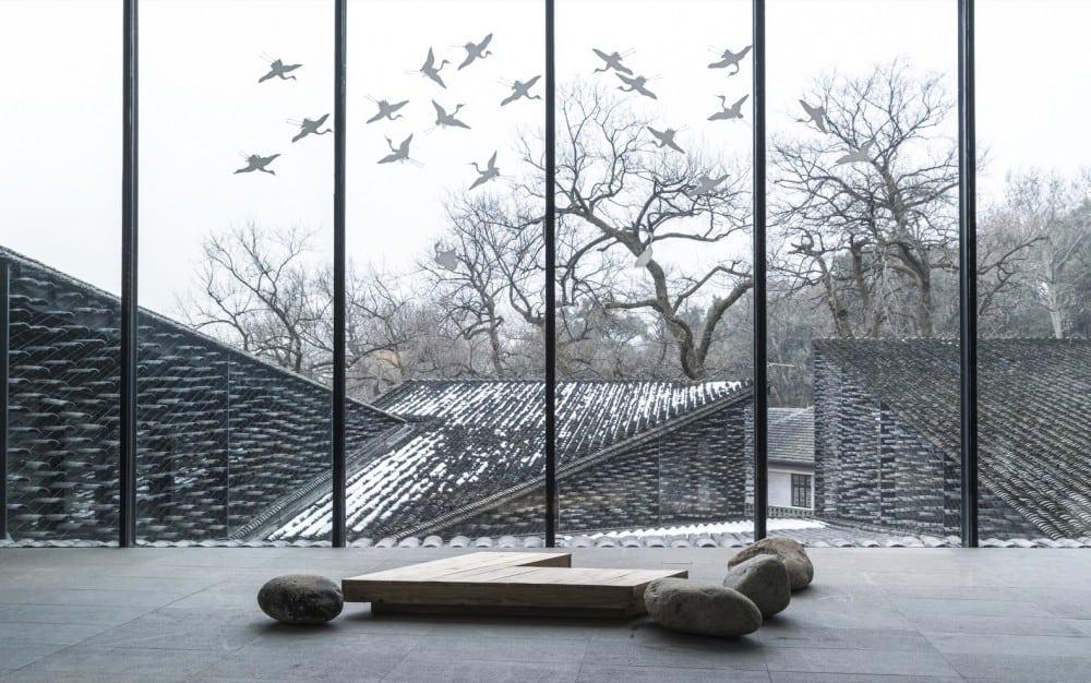 Folk Art Museum, China Academy of Arts in Hangzhou, China by Kengo Kuma