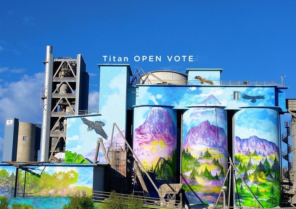 titan open vote