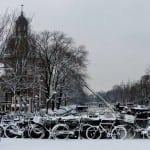 Δείτε το viral video του χιονισμένου Άμστερνταμ!