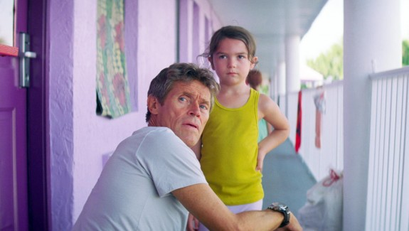 """Willem Dafoe and Brooklynn Prince in 'The Florida Project"""" from EPK.tv"""