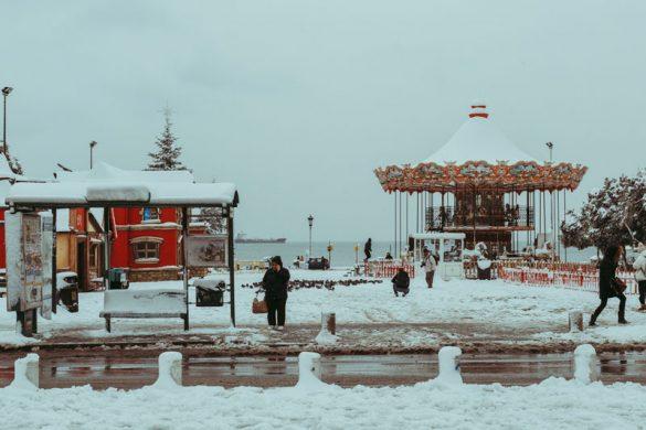 42 φωτογραφίες από τη χιονισμένη Θεσσαλονίκη!