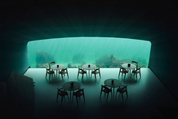 Under: Αυτό είναι το πρώτο υποθαλάσσιο εστιατόριο της Ευρώπης!