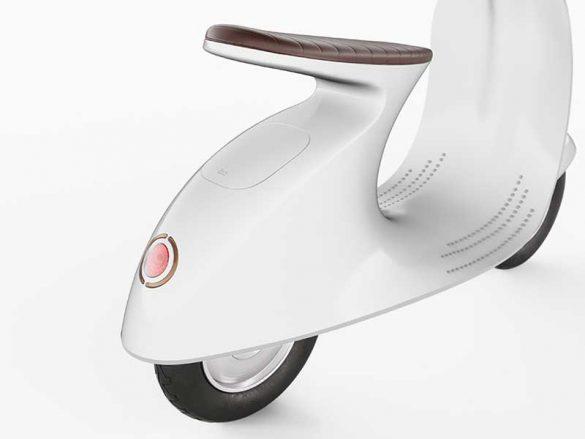 Μια μινιμαλιστική Vespa σχεδιασμένη από τον Τζούλιο Ιακέτι!