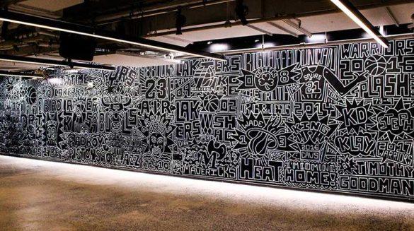 Μια τοιχογραφία με τις 25 σπουδαιότερες ομάδες του NBA!