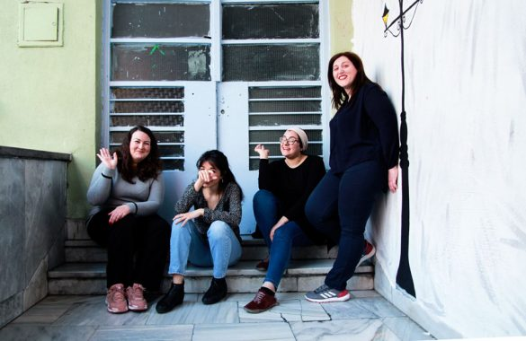 H ομάδα του προγράμματος «Ανοιχτά Σχολεία στη Γειτονιά» σε έναν τελικό απολογισμό!