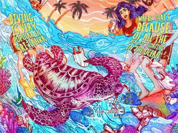 Planet or Plastic?: 12 καλλιτέχνες σχεδιάζουν τη νέα καμπάνια του National Geographic!