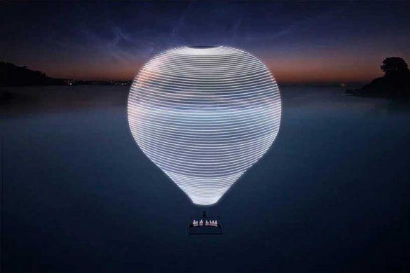 «Νέος Ορίζοντας», το αερόστατο-καθρέφτης του Doug Aitken!