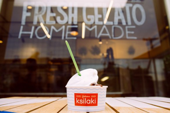 We found the most fresh and irresistible authentic ice cream, in Chalkidiki!