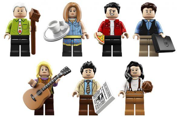 25 χρόνια Φιλαράκια με το Central Perk φτιαγμένο από LEGO!