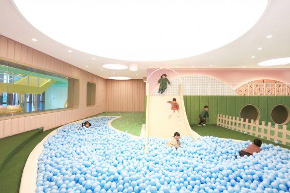 Ένα απόλυτα χαρούμενο και παιχνιδιάρικο σχολείο μόλις δημιουργήθηκε στην Κίνα!