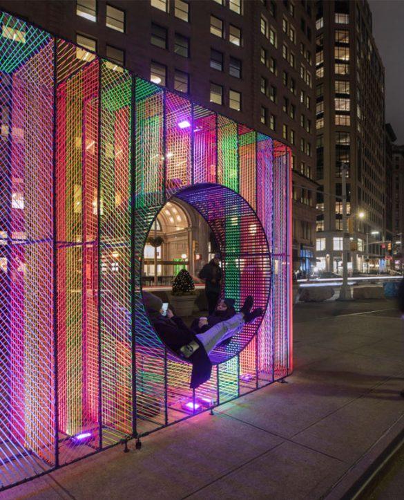 Ziggy: μια εγκατάσταση στη Flatiron Public Plaza της Νέας Υόρκης!