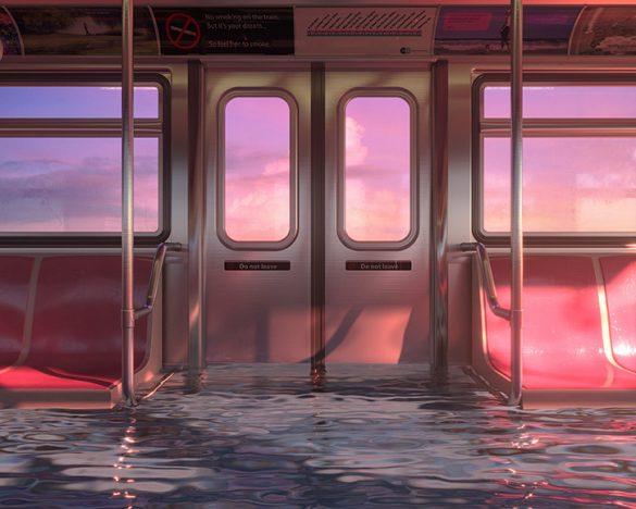 Οι απεικονίσεις του Hayden Williams μας δείχνουν τις πιθανές επιπτώσεις της αύξησης των επιπέδων της θάλασσας.