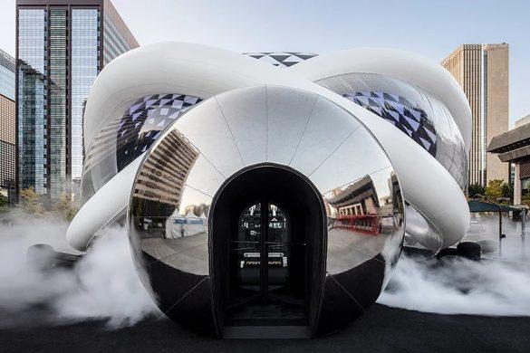 AIR cinema: Μια φουσκωτή αίθουσα κινηματογράφου στη Νότια Κορέα!