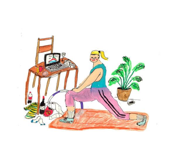 Η Saskia Jenssen αποτυπώνει με χιούμορ την ζωή εντός σπιτιού!