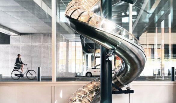 Κάναμε τσουλήθρα στο Danish Architecture Center!