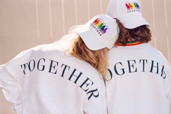 """Η """"Pride"""" καμπάνια και συλλογή ρούχων του οίκου μόδας Ralph Lauren."""