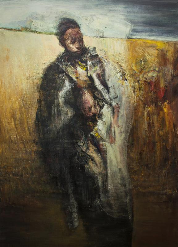 Ο Νίκος Ασλανίδης αποτυπώνει με πινέλο και χρώμα την οριακή ανθρώπινη κατάσταση.