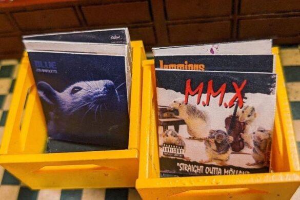 Ricotta Records, ένα «δισκοπωλείο» για ποντίκια στην πόλη Lund της Σουηδίας!