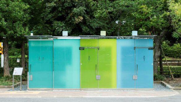 Διαφανείς δημόσιες τουαλέτες σε πάρκα του Τόκιο!