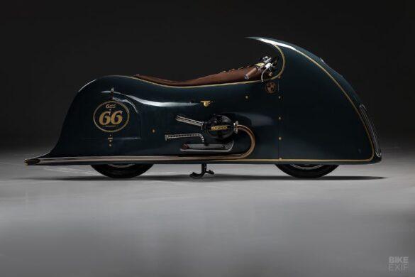 Good Ghost, o Dirk Oehlerking σχεδίασε μια μοτοσυκλέτα για μουσείο!