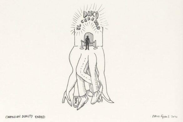Ο David Byrne ζωγράφιζε για να αντιμετωπίσει την κόπωση του lockdown!