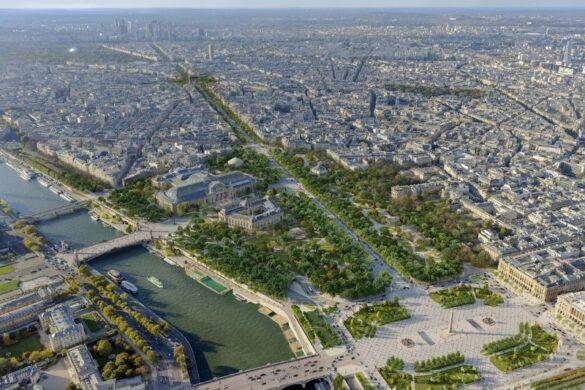Το Παρίσι μετατρέπει τον δρόμο των Ηλυσίων Πεδίων σε έναν «εξαίσιο κήπο».
