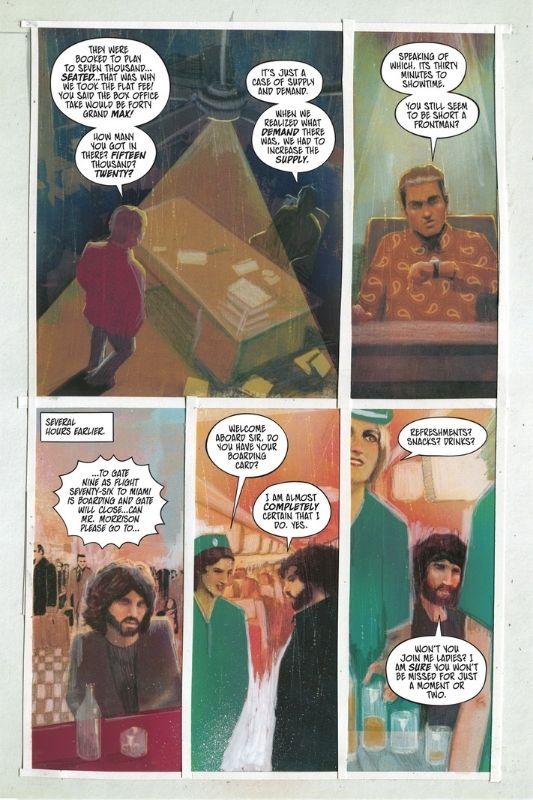 Ένα βιογραφικό comic για τους θρυλικούς The Doors!