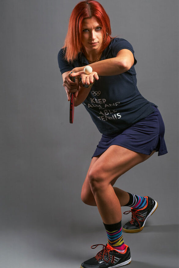 Ανίτα Χατσατριάν: Θέλω να μεταδώσω σε ολόκληρο τον κόσμο την πινγκ πονγκ κουλτούρα.